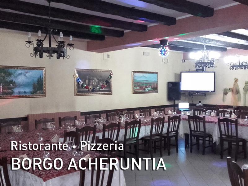Ristorante Pizzeria Borgo Acheruntia