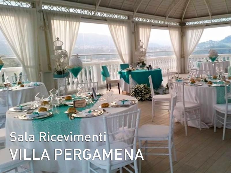 Sala Ricevimenti Villa Pergamena